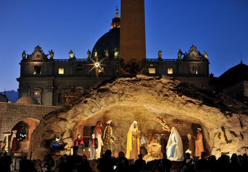 Pesebre en Vaticano