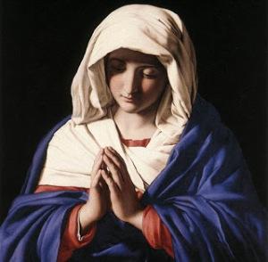 virgen-maria-orando