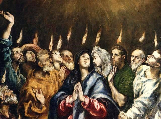 Pentecostés-El-Greco